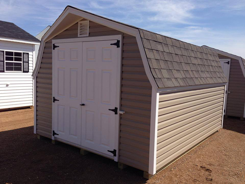 Low barn vinyl shed for sale in minnesota