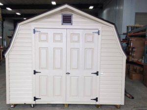 Beatiful backyard vinyl sheds