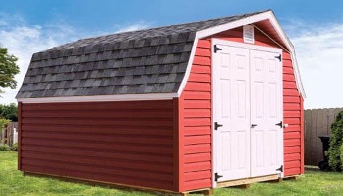 Low barn vinyl sheds for sale