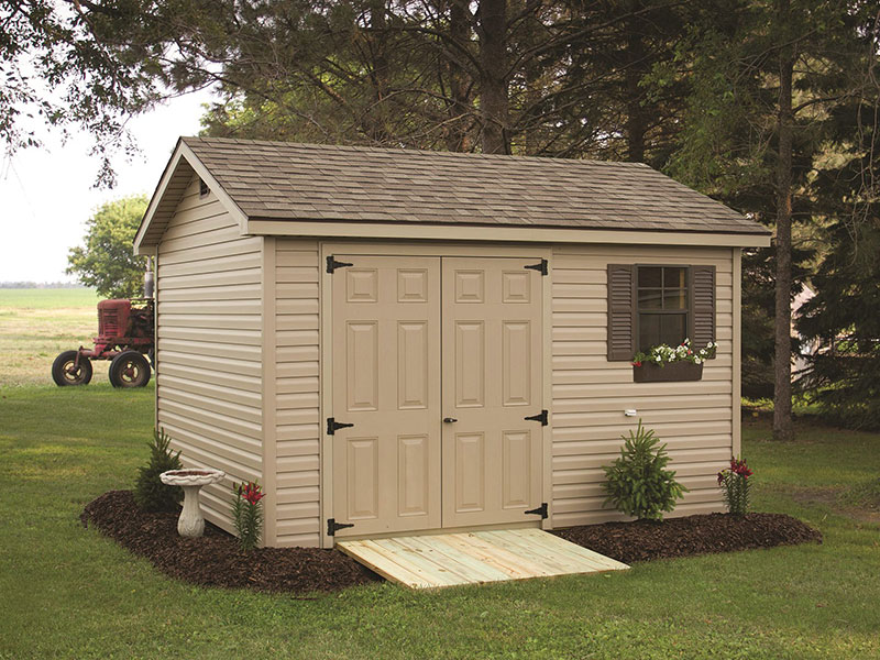 Custom outdoor storage sheds for sale