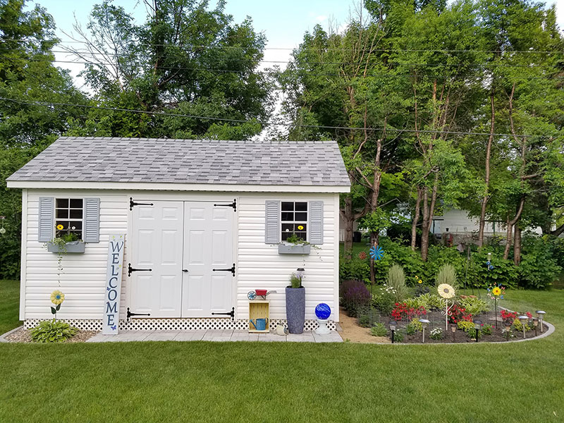Iowa outdoor storage sheds for sale