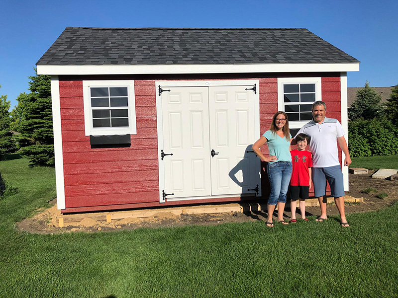 Outdoor storage sheds for sale in iowa