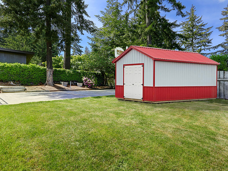 Custom Outdoor Storage Sheds Choose From Wood Vinyl Amp Metal Siding