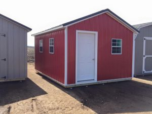 We sell ranch style shed in nd