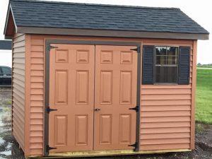 Home vinyl sheds