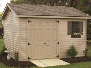 Vinyl custom sheds