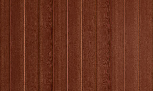 Wood panel siding for studio sheds