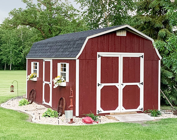 Storage shed for sale high barn