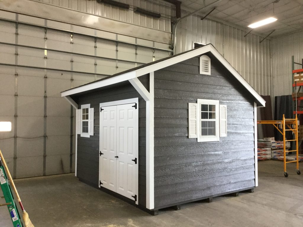10x12 Quaker Style Wood Shed For Sale 22958 Northland