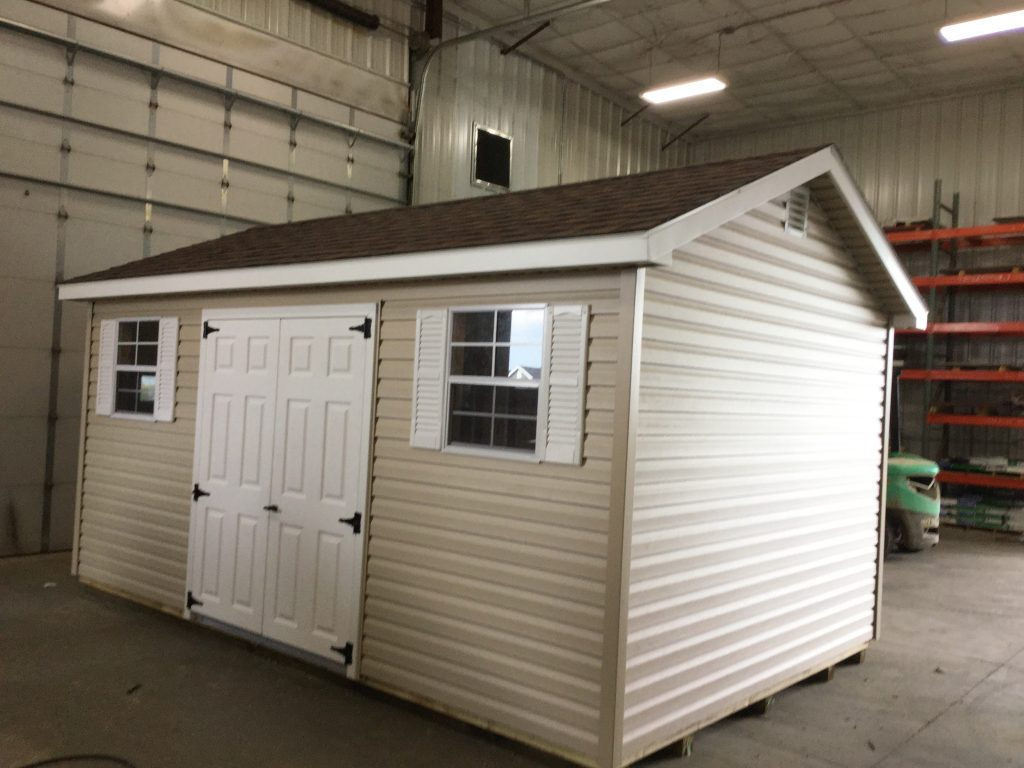 10x16 Ranch Style Vinyl Shed For Sale 23365 Northland