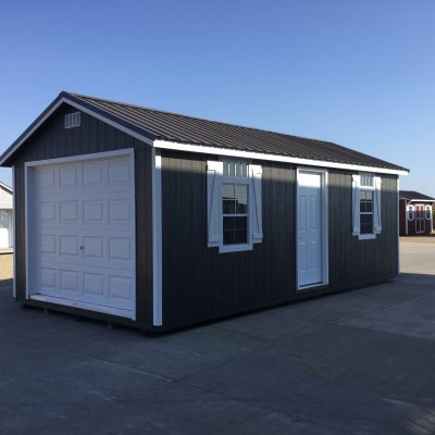 12x24 Ranch Style Wood Garage Northland Sheds