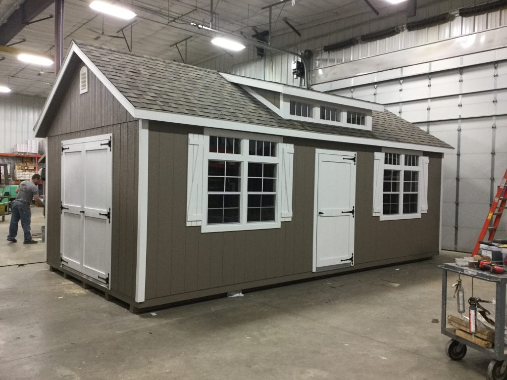 12x24 Classic Style Wood Shed For Sale 23512 Northland