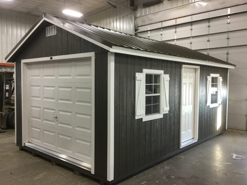 12x20 Ranch Style Wood Garage For Sale 24073 Northland
