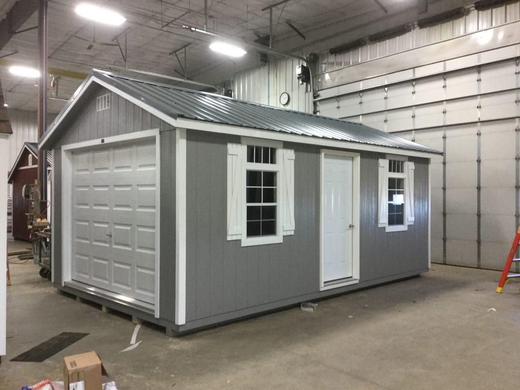 12x20 Ranch Style Wood Garage For Sale 24193 Northland