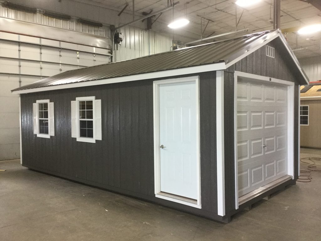 Ranch Style Wood Garage For Sale Northland Sheds