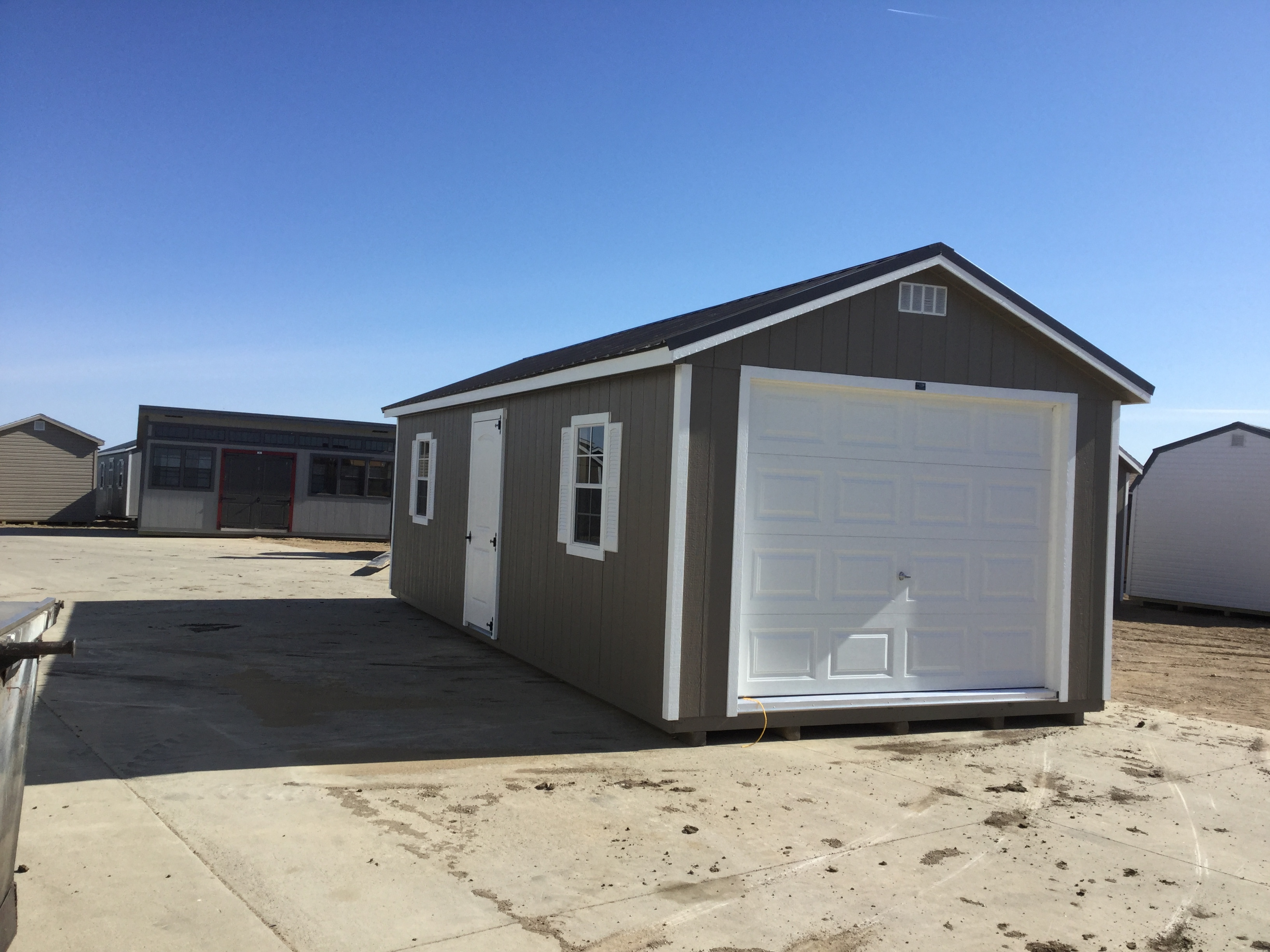 12x20 Ranch Style Wood Garage For Sale 25410 Northland