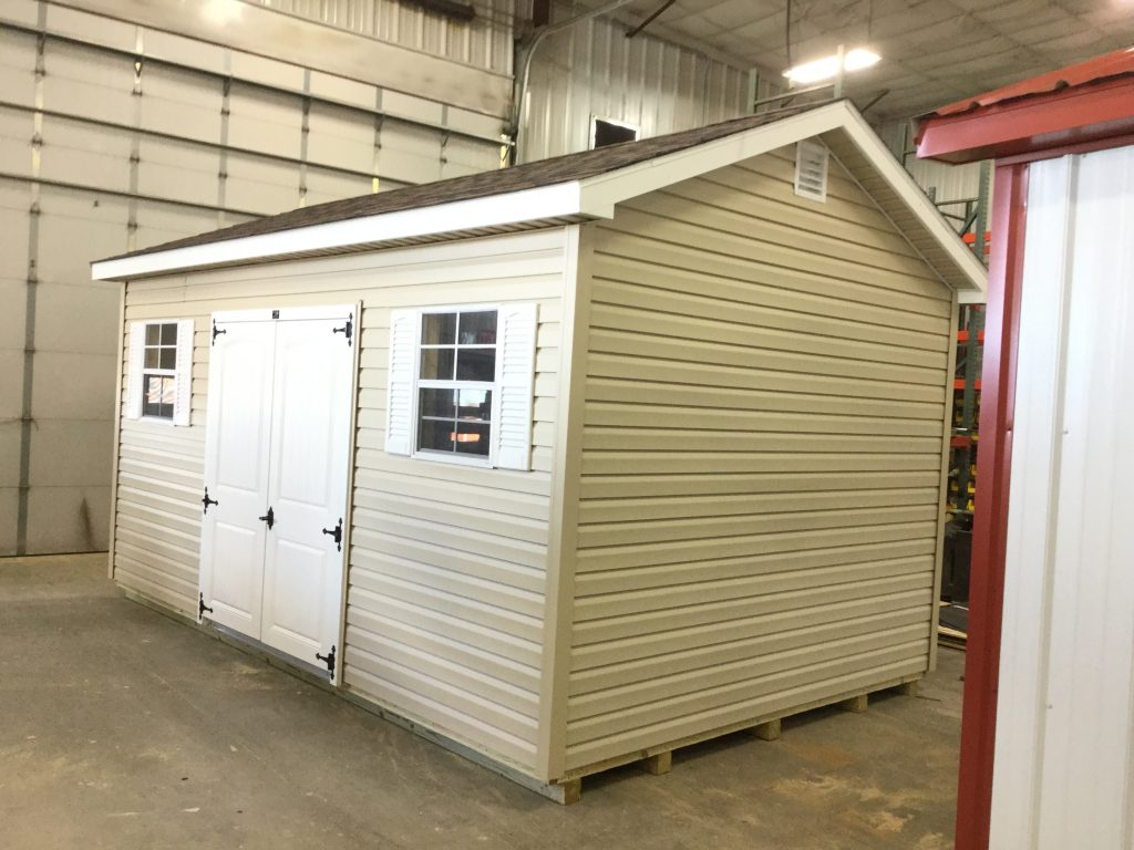 10x16 Ranch Style Vinyl Shed For Sale 24967 Northland