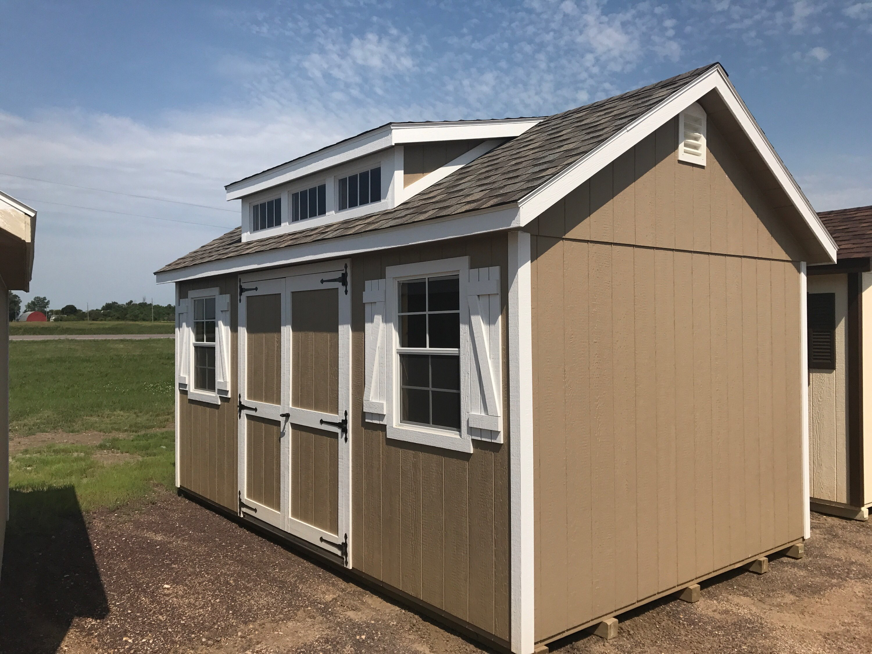 10x16 classic style wood shed northland sheds for Lp smartside reviews