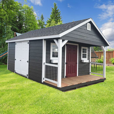 Customized shed