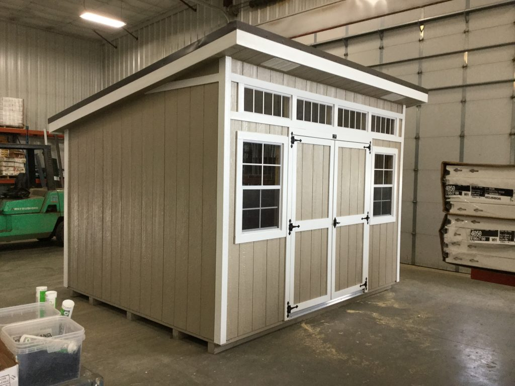 10x12 Studio Style Wood Shed For Sale 25472 Northland